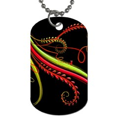 Cool Pattern Designs Dog Tag (Two Sides)