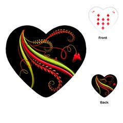 Cool Pattern Designs Playing Cards (heart)
