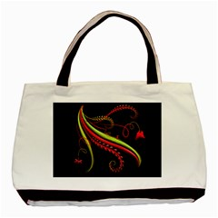 Cool Pattern Designs Basic Tote Bag (two Sides)