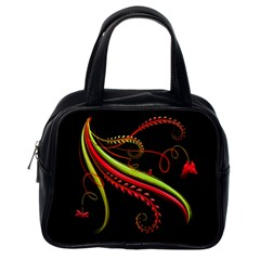 Cool Pattern Designs Classic Handbags (One Side)