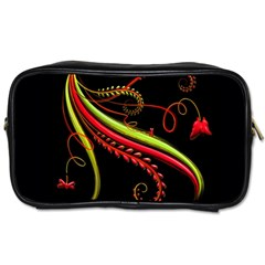 Cool Pattern Designs Toiletries Bags 2 Side