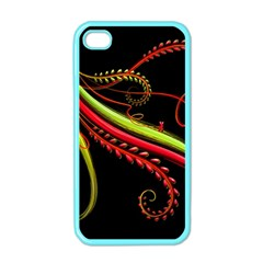 Cool Pattern Designs Apple Iphone 4 Case (color)