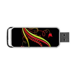 Cool Pattern Designs Portable Usb Flash (one Side)