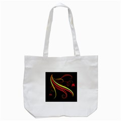 Cool Pattern Designs Tote Bag (White)