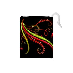 Cool Pattern Designs Drawstring Pouches (Small)
