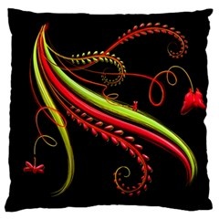Cool Pattern Designs Standard Flano Cushion Case (one Side)