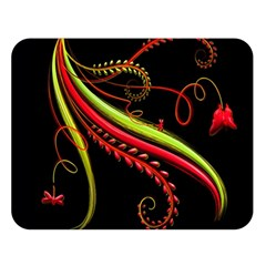 Cool Pattern Designs Double Sided Flano Blanket (large)