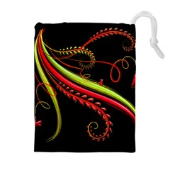 Cool Pattern Designs Drawstring Pouches (extra Large)
