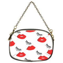 Smooch Pattern Design Chain Purses (Two Sides)