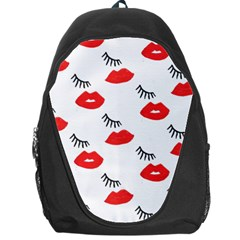 Smooch Pattern Design Backpack Bag
