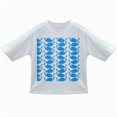 Fish Pattern Background Infant/toddler T Shirts