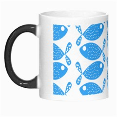 Fish Pattern Background Morph Mugs