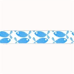 Fish Pattern Background Small Bar Mats