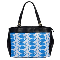 Fish Pattern Background Office Handbags