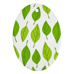 Spring Pattern Ornament (oval)