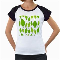 Spring Pattern Women s Cap Sleeve T