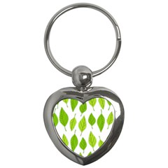 Spring Pattern Key Chains (heart)