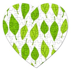 Spring Pattern Jigsaw Puzzle (Heart)