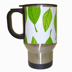 Spring Pattern Travel Mugs (white)