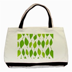 Spring Pattern Basic Tote Bag