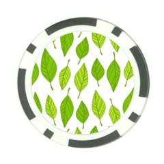 Spring Pattern Poker Chip Card Guard