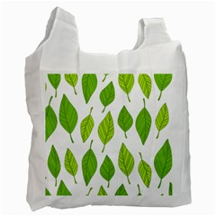 Spring Pattern Recycle Bag (one Side)