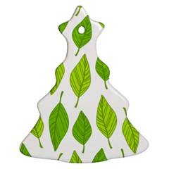 Spring Pattern Christmas Tree Ornament (two Sides)