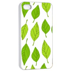 Spring Pattern Apple Iphone 4/4s Seamless Case (white)