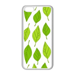Spring Pattern Apple Iphone 5c Seamless Case (white)