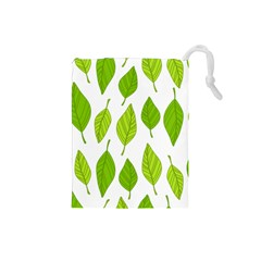 Spring Pattern Drawstring Pouches (Small)