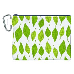 Spring Pattern Canvas Cosmetic Bag (xxl)
