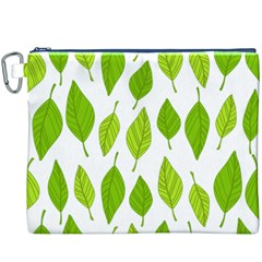 Spring Pattern Canvas Cosmetic Bag (XXXL)