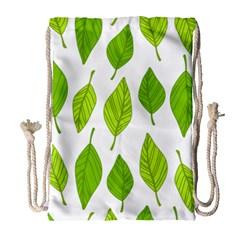 Spring Pattern Drawstring Bag (Large)