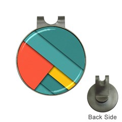 Color Schemes Material Design Wallpaper Hat Clips With Golf Markers