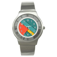 Color Schemes Material Design Wallpaper Stainless Steel Watch