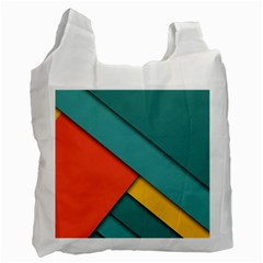 Color Schemes Material Design Wallpaper Recycle Bag (Two Side)