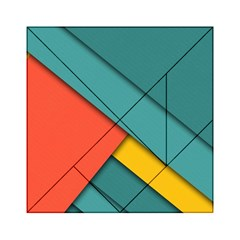 Color Schemes Material Design Wallpaper Acrylic Tangram Puzzle (6  X 6 )
