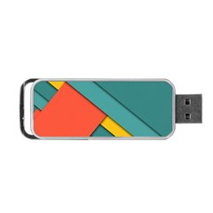 Color Schemes Material Design Wallpaper Portable USB Flash (Two Sides)