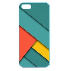 Color Schemes Material Design Wallpaper Apple Seamless iPhone 5 Case (Color)