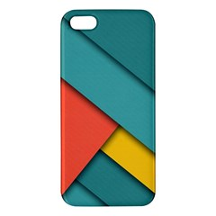 Color Schemes Material Design Wallpaper Apple iPhone 5 Premium Hardshell Case