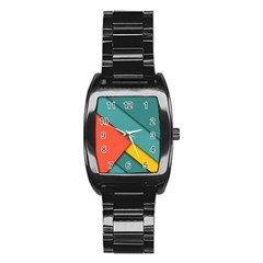 Color Schemes Material Design Wallpaper Stainless Steel Barrel Watch