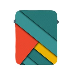 Color Schemes Material Design Wallpaper Apple Ipad 2/3/4 Protective Soft Cases