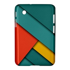 Color Schemes Material Design Wallpaper Samsung Galaxy Tab 2 (7 ) P3100 Hardshell Case