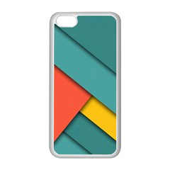 Color Schemes Material Design Wallpaper Apple iPhone 5C Seamless Case (White)