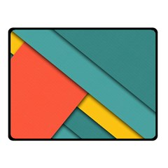 Color Schemes Material Design Wallpaper Double Sided Fleece Blanket (small)