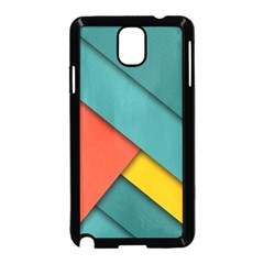 Color Schemes Material Design Wallpaper Samsung Galaxy Note 3 Neo Hardshell Case (black)