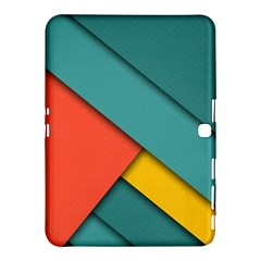 Color Schemes Material Design Wallpaper Samsung Galaxy Tab 4 (10.1 ) Hardshell Case