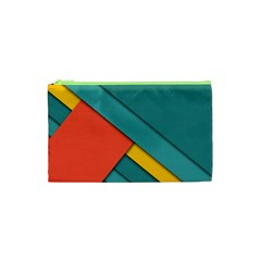 Color Schemes Material Design Wallpaper Cosmetic Bag (XS)