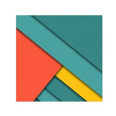Color Schemes Material Design Wallpaper Small Satin Scarf (square)