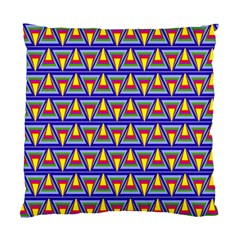 Seamless Prismatic Pythagorean Pattern Standard Cushion Case (Two Sides)